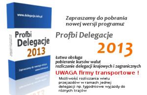 Program do rozliczania delegacji